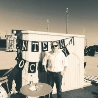 'Folk in a Box' Stade Open Space, Hastings.
